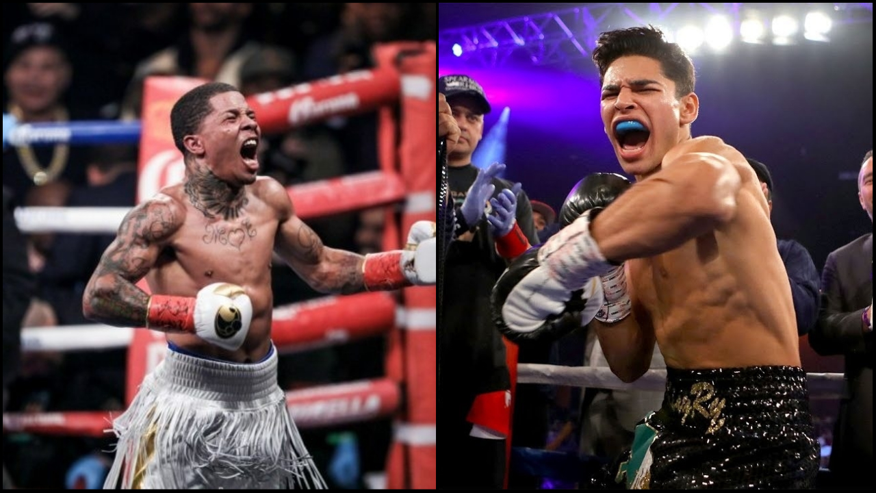 Gervonta Davs and Ryan Garcia
