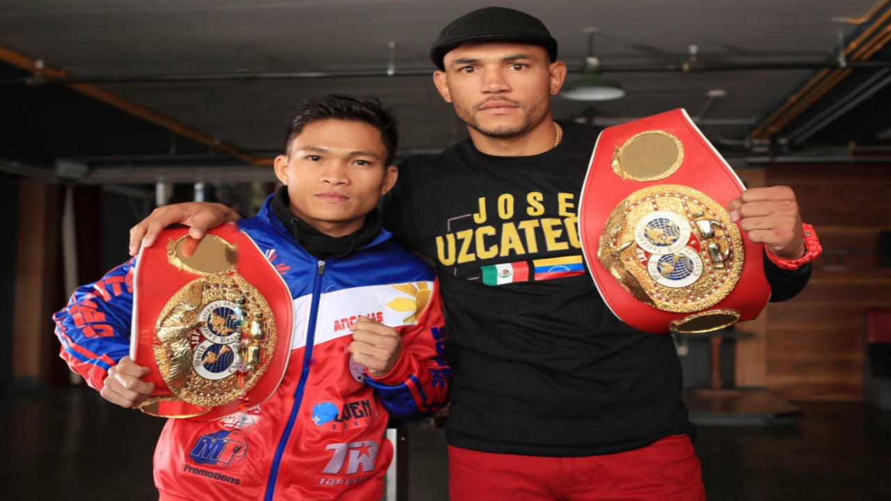 Jerwin Ancajas and Jose Uzcategui